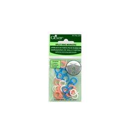 Clover Split Ring Marker