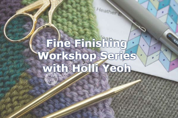 Baaad Anna's Yarn Store Holli Yeoh Fine Finishing Series