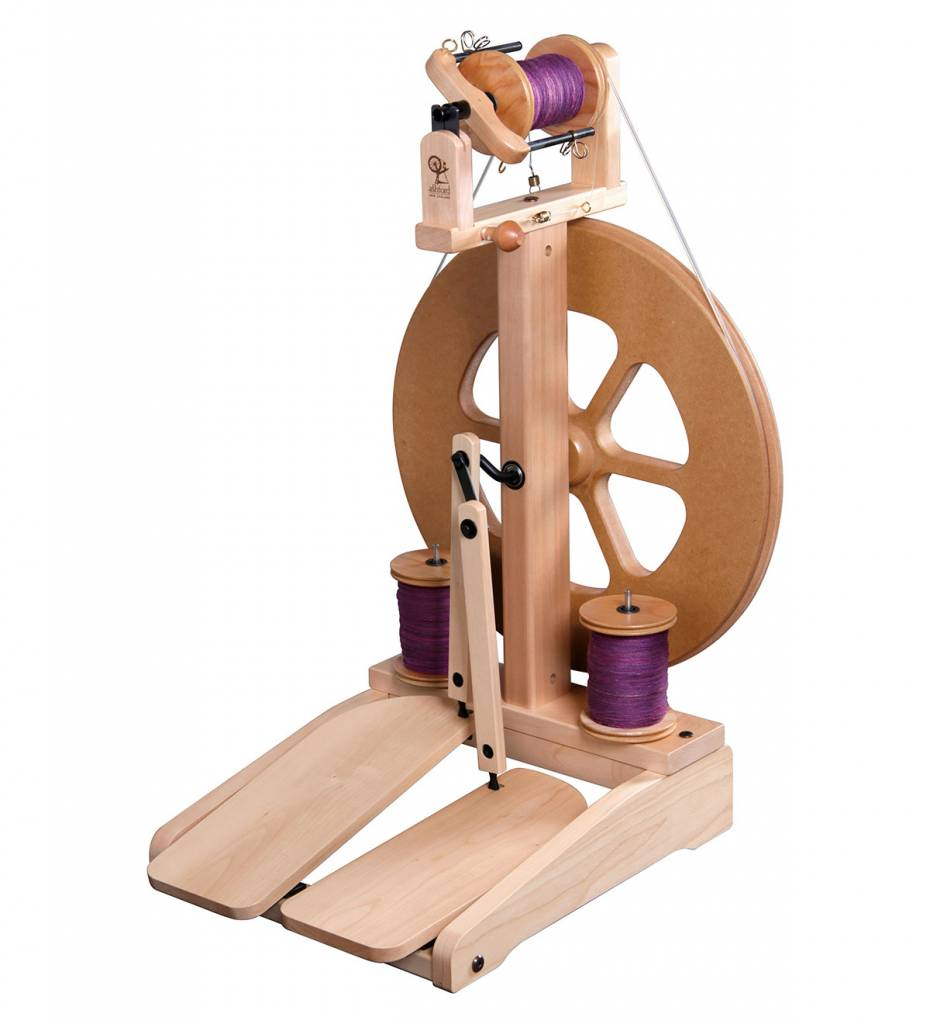 Baaad Anna's Yarn Store Intro to Wheel Spinning Class
