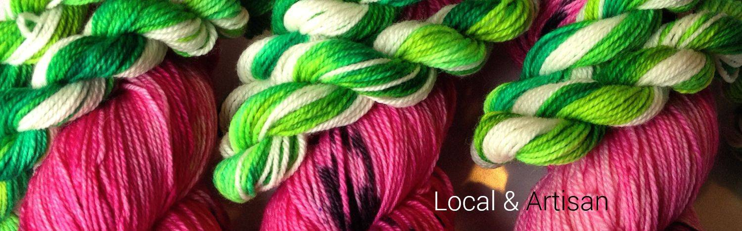 Small Batch Yarns From Fibre Artists