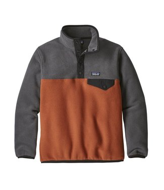 Patagonia Boys' LW Synch Snap-T Pullover