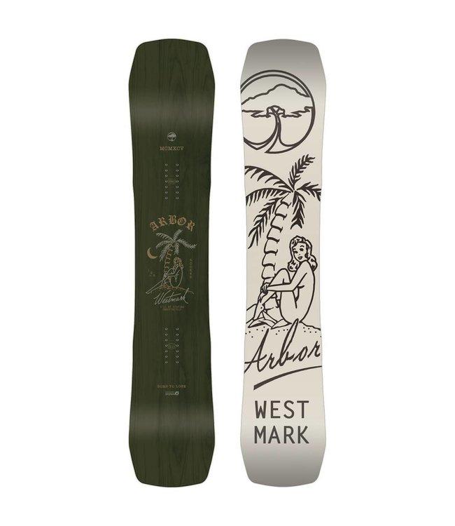 a73dc02c7679 Arbor Westmark Rocker Snowboard 2019