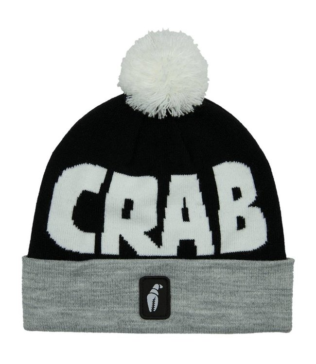 Crab Grab Pom Beanie