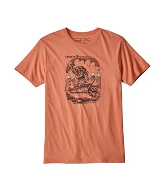 Patagonia Nut vs. Piton Organic Cotton T-Shirt