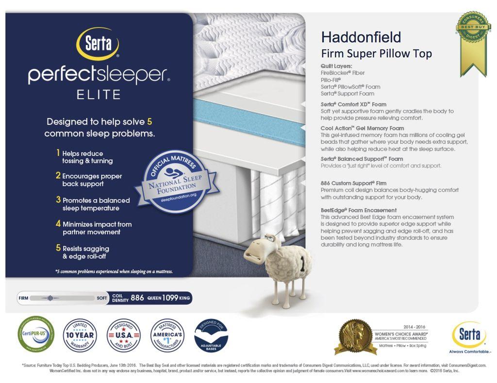 Serta Haddonfield SPT Firm