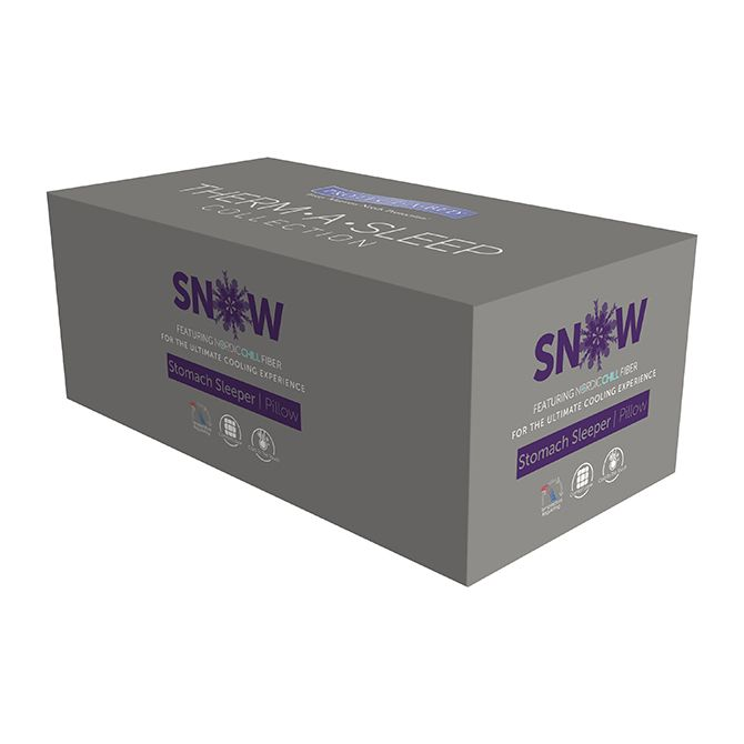PROTECT-A-BED SNOW SIDE SLEEP POSITION<br /> 800 GRAM