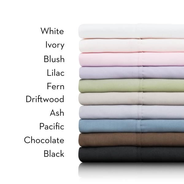 Microfiber Sheets SPLIT KK WHITE