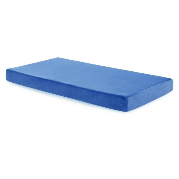 Brighton Bed Youth Gel Memory Foam FULL-BLUE