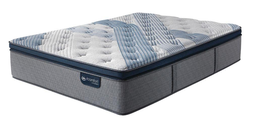 Blue Fusion 4000 Plush Pillow Top