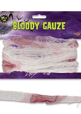 ***Bloody Gauze 24ft Roll