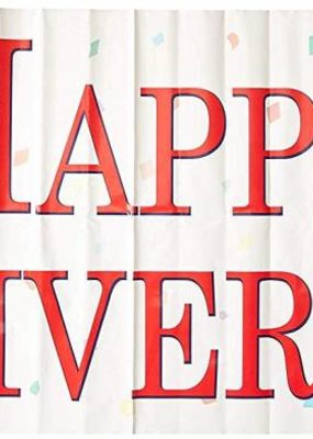 ***Happy Anniversary Sign Banner