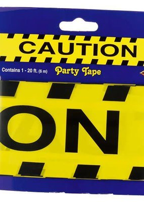 ***Caution Party Tape 20ft Roll