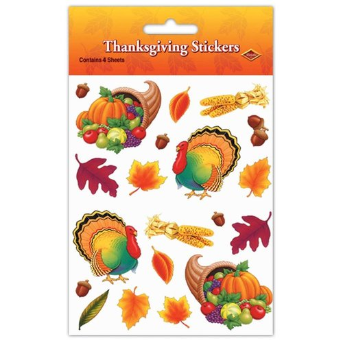 ***Thanksgiving Stickers 4 sheets