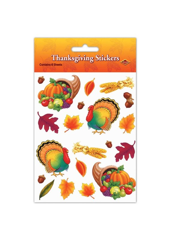 ****Thanksgiving Stickers 4 sheets