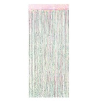 "***Opal Door Fringe Curtain 36"" wide x 8 ft Tall"