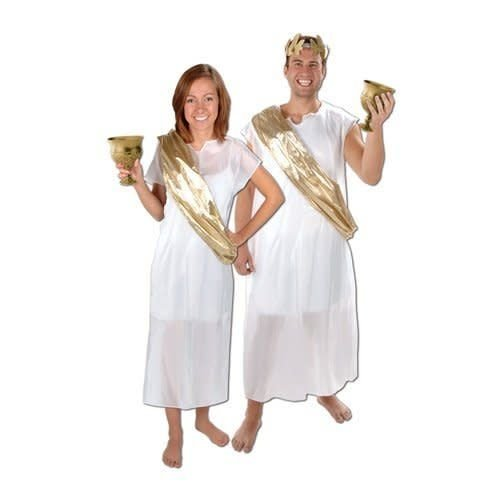 Toga with Sash Costume Kit (chalice, crown sold separately)