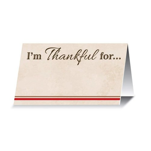 ***I'm Thankful for ... Place Cards 12ct