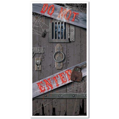 Bloody Do Not Enter Door Cover