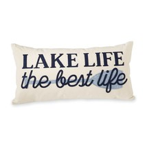 Lake Life the Best Life Felt Pillow