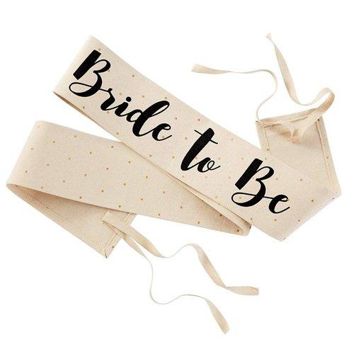 Bride to Be Wedding Sash