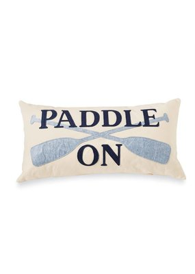 ***Paddle on Felt Pillow