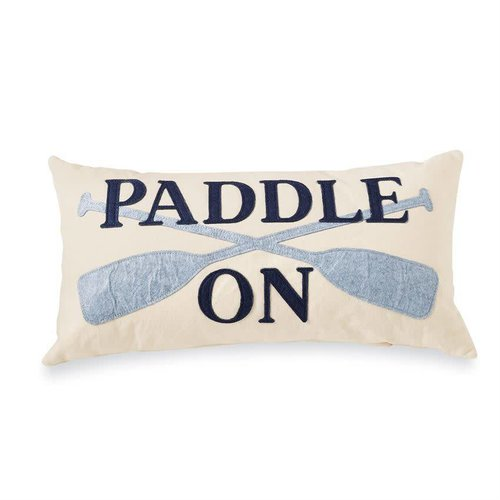 Paddle on Felt Pillow