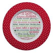 ***12 Days of Florida Christmas Plate