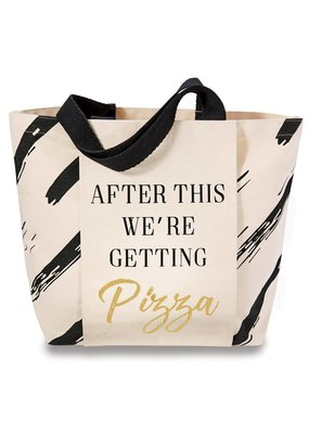 "***Gym Tote Bag ""Pizza After"""