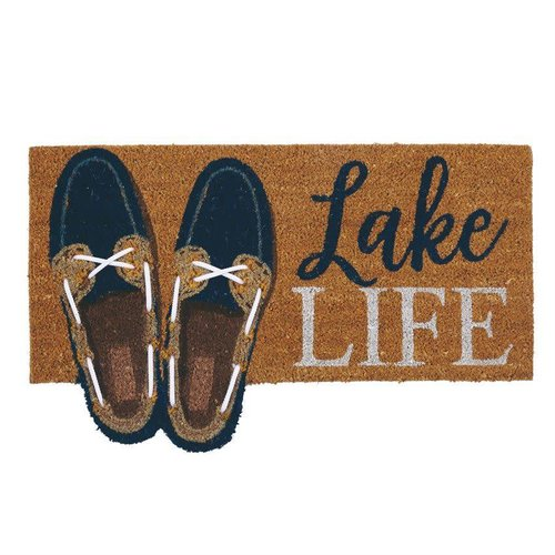 Lake Life Boat Shoe Door Mat