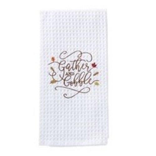 Gather & Gobble Waffle Weave Towel
