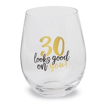 ***30 Looks Good on You Stemless Wine Glass