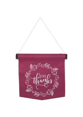 ***Give Thanks Wall Banner