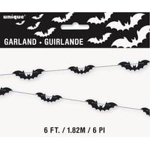 Black Bat 6ft Garland