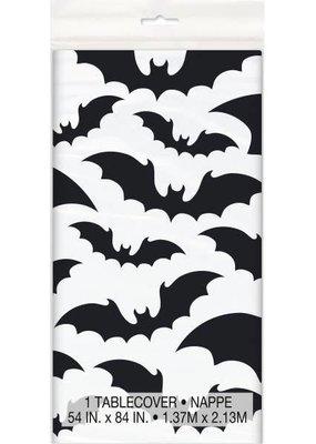 *Black Bats Halloween Tablecover