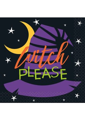 ***Witch Please Beverage Napkins 16ct