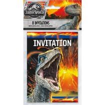 ***Jurassic World 2 Invitations