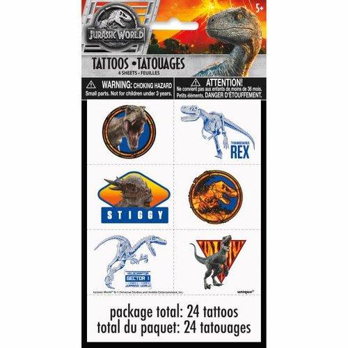 Jurassic World 2 Tattoos