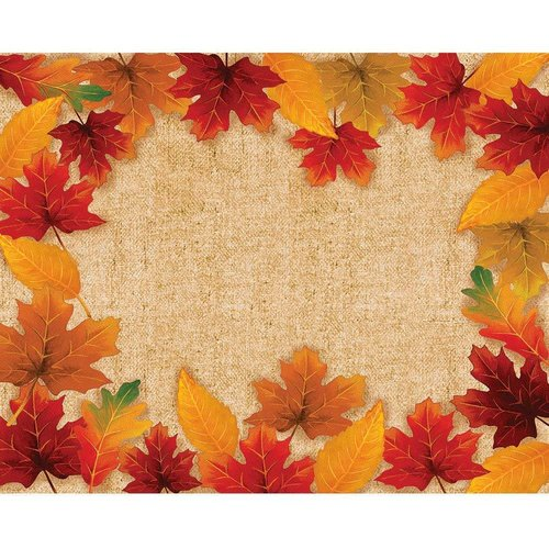 ***Fall Leaves Paper Placemat