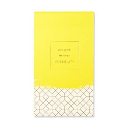***Believe in Every Possibility List Pad