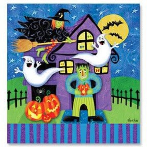 *Haunted Eve Plastic Tablecover
