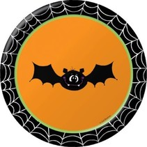 """***Silly Souls 7"""" Dessert Plates 8ct"""