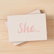 ***She..Boxed Cards