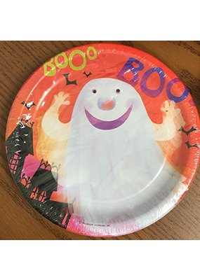 "***Friendly Fun Halloween 7"" Dessert Plates 8ct"