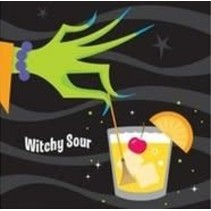 *Halloween Drinks Beverage Napkins 36ct