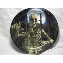"*Eerie Estate 7"" Dessert Plates 8ct"