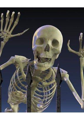 ***Eerie Estate Skeleton Lunch Napkins 20ct