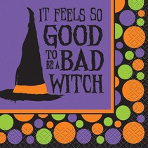 *Bad Witch Beverage Napkins 16ct