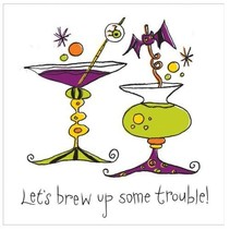 *Get Wicked Brew Trouble Bev Napkins