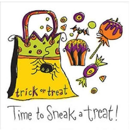 *Get Wicked Sneak A Treat Bev Napkins 18ct