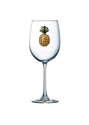 Queen's Jewels ***Pineapple Stemmed Wine Glass